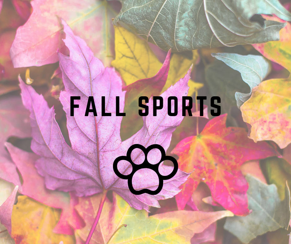 Fall Sports Signup Information