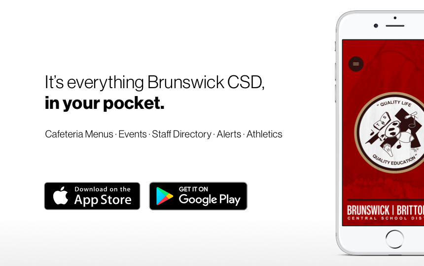 Brunswick CSD's New App - Download Today!