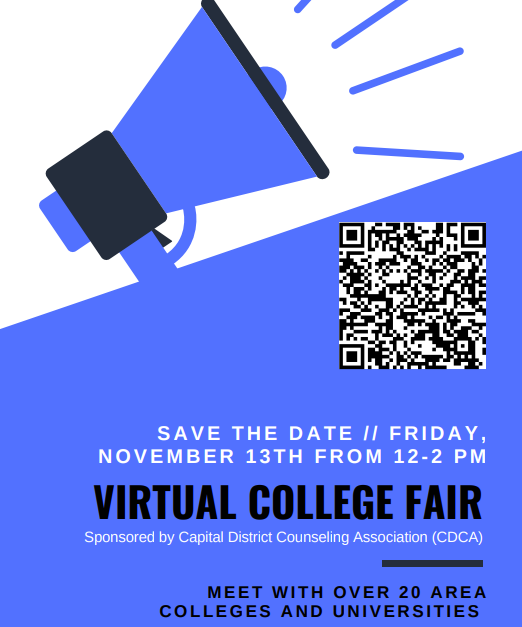 Virtual College Fair - November 13, 2020