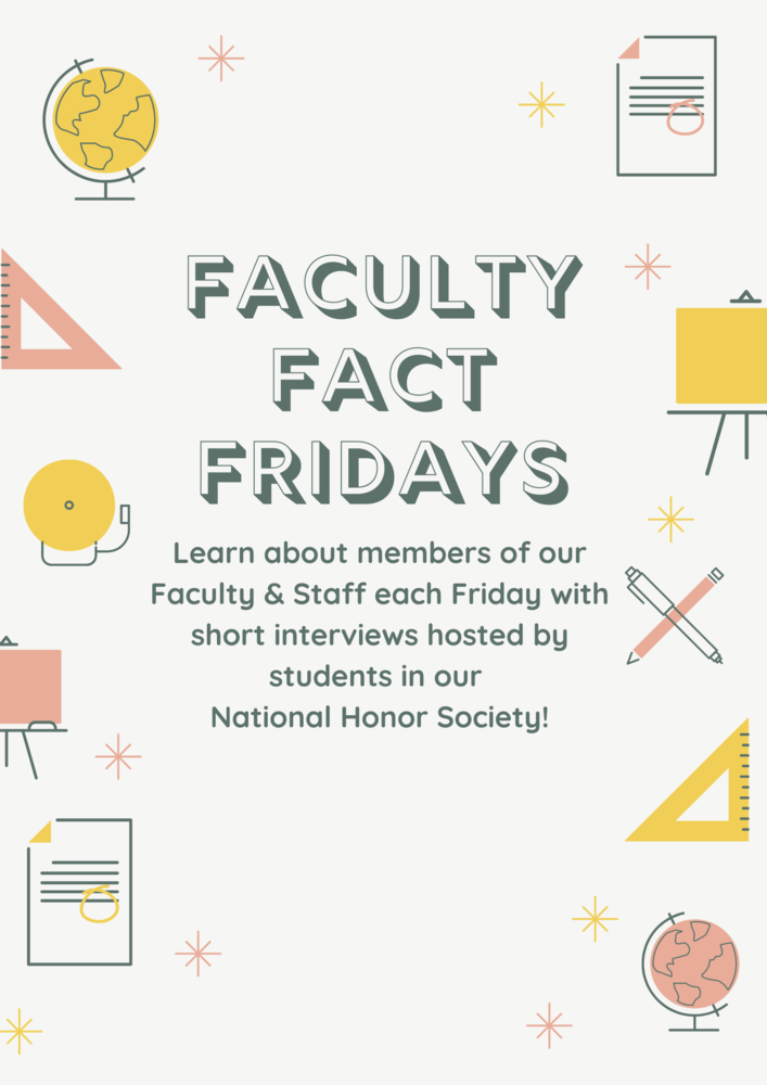 Faculty Facts Friday: Featuring Ms. Petersen
