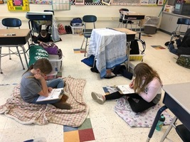 Mrs. Tully's students have 'Relax Math' Time