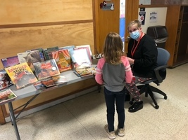 Mrs. Gilcrest and the Hallway Book Exchange