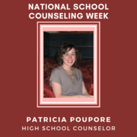 National School Counseling Week: Meet Patricia Poupore