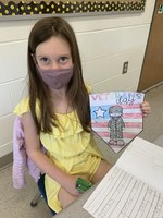 Veterans Day: Mrs. Hodgson's First Graders learn about Veterans Day