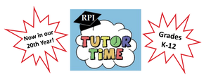 RPI Tutor Time - Virtual tutors available to grades K-12
