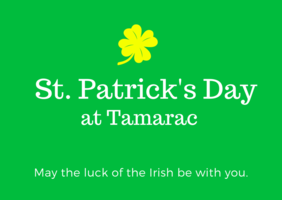 Happy St. Patrick's Day from Tamarac
