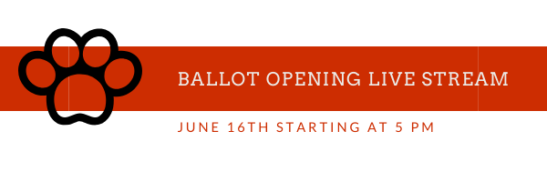 Ballot Opening live stream on June 16th at 5 PM