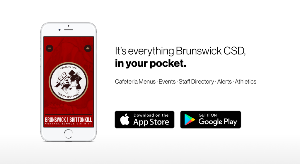 We are loving our new Brunswick CSD app! Download it today!