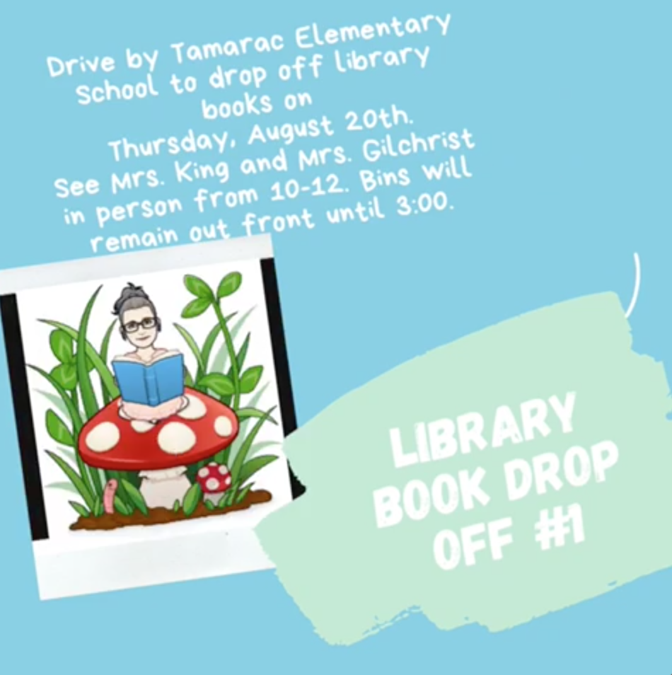 Library Drop Off August 20