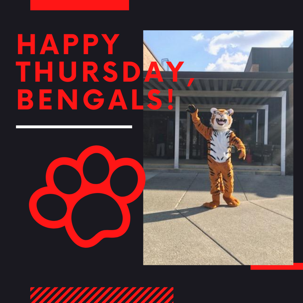 Happy Thursday, Bengals!